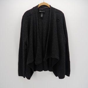 Lane Bryant Heavy Knit Open Front Cardigan Sweater